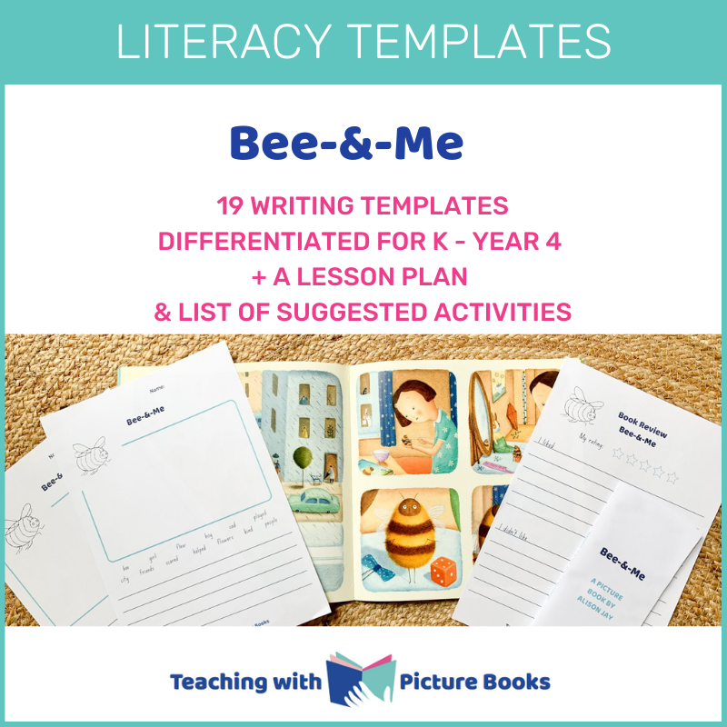 bee and me literacy activities