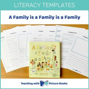 a family is a family is a family writing templates