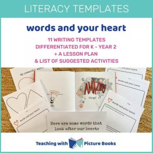 words and your heart writing templates
